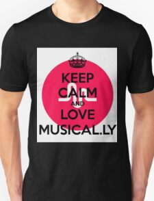 musically logo Unisex T-Shirt