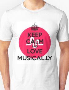 musically logo Unisex T-Shirt