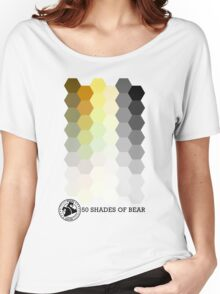 50 Shades of Bear Hex Style Women's Relaxed Fit T-Shirt