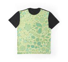 Summer Green Chamomiles Graphic T-Shirt