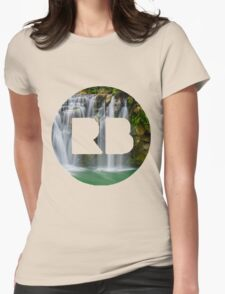 redbubble logo Womens Fitted T-Shirt