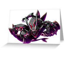 Pokemon : Shiny Rayquaza FanArt Greeting Card