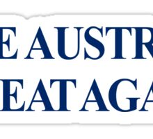 MAKE AUSTRALIA GREAT AGAIN | MAGA Sticker