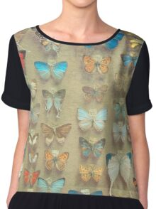 The Butterfly Collection II Chiffon Top