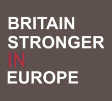 britain stronger in europe Baby Tee