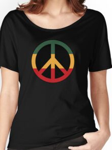 Reggae peace Women's Relaxed Fit T-Shirt