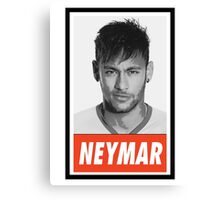 (FOOTBALL) Neymar JR. Canvas Print