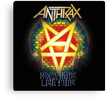 ANTHRAX BREAKING LIGHTNING Canvas Print