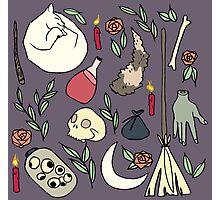 Witch Essentials Photographic Print