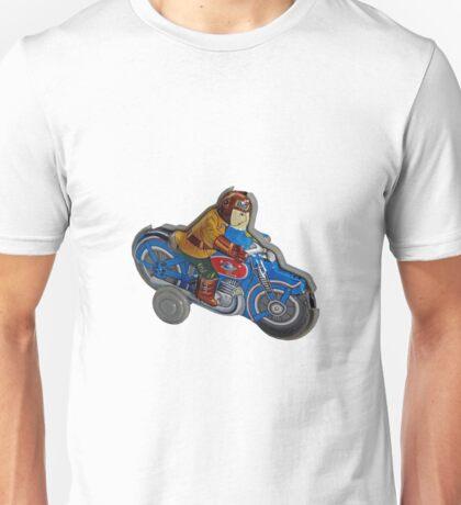 Tin Toy - Motorbike 1 Unisex T-Shirt