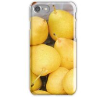 Pears in a basket iPhone Case/Skin