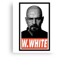 (SERIES) Walter White Canvas Print