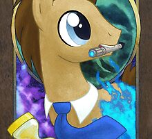 Dr Whooves Portrait by EchoesLight