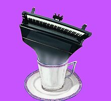 Grand Piano - Musical Cup of Tea by didielicious