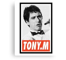 (MOVIES) Tony Montana Canvas Print