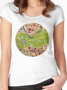 berlin - tiergarten Women's Fitted Scoop T-Shirt