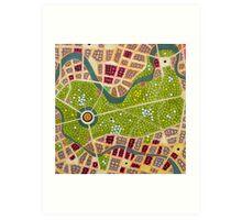 berlin - tiergarten Art Print