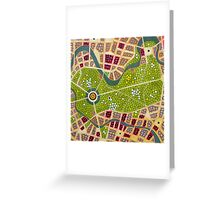berlin - tiergarten Greeting Card