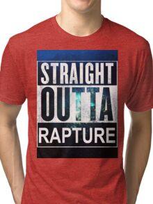 Straight Outta Rapture - Colour Tri-blend T-Shirt
