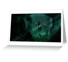 The Lone Mermaid Greeting Card