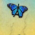 Paris' butterfly by poupoune