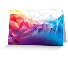 Multicoloured awesome pattern Greeting Card