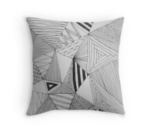 Crazy Pattern Throw Pillow