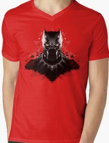 Panther Ink Mens V-Neck T-Shirt
