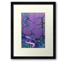 Dragons's Rest Framed Print