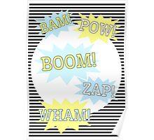 Batman - Pow, Boom, Wham Poster