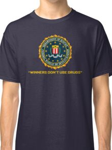 WINNERS DON´T USE DRUGS - ARCADE SLOGAN Classic T-Shirt