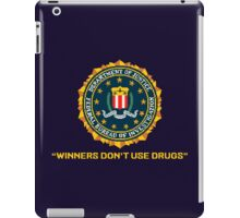 WINNERS DON´T USE DRUGS - ARCADE SLOGAN iPad Case/Skin