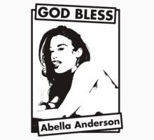 GOD BLESS Abella Anderson by Henrique Gonçalves