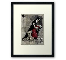midnight tango Framed Print