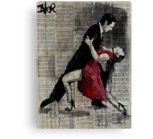 midnight tango Canvas Print