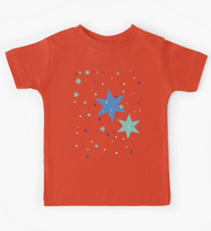 Starry and Colourful Kids Tee