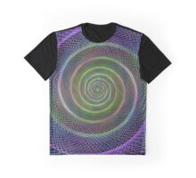 Filigree spiral structure Graphic T-Shirt