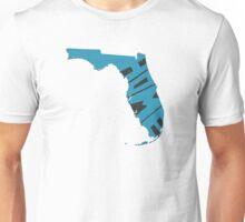 Florida HOME state design Unisex T-Shirt