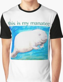 This Is My Manatee Graphic T-Shirt