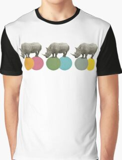 Rambling Rhinos Graphic T-Shirt