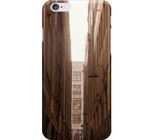 Lanes of Melbourne iPhone Case/Skin