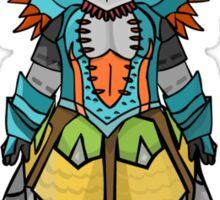 Monster Hunter 3 Armour Mixup Sticker