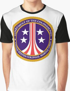 Colonial Marines emblem (full size) Graphic T-Shirt