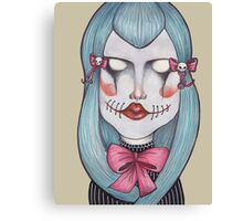 Scary Bows Canvas Print