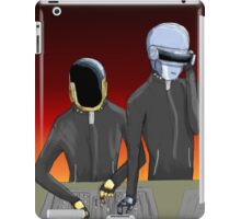 Daft Punk at work iPad Case/Skin