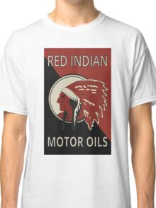 Red Indian Motor Oils Classic T-Shirt