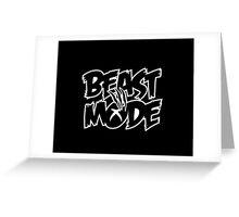 Xbox Beast Mode Greeting Card