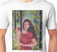 Forbidden fruit fairytale art by Renee Lavoie Unisex T-Shirt