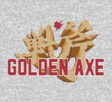 GOLDEN AXE TITLE SCREEN One Piece - Long Sleeve