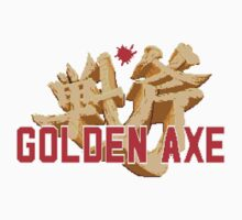 GOLDEN AXE TITLE SCREEN Kids Tee